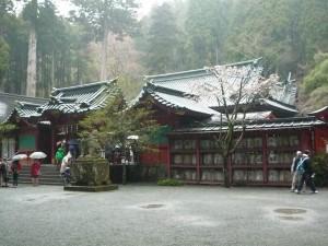 箱根神社 右から