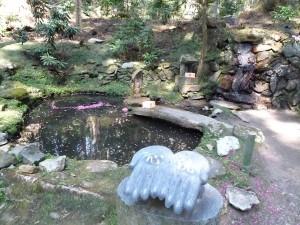 御岩神社 池