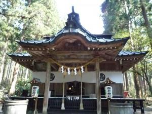 御岩神社 拝殿2