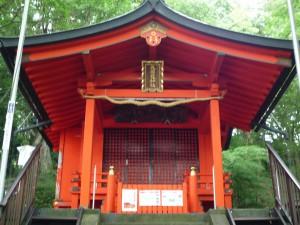 九頭龍神社 社殿