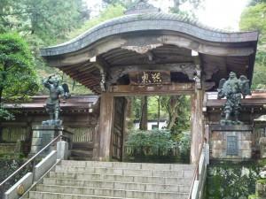 最乗寺 結界門