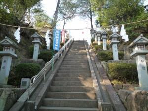 師岡熊野神社 石段