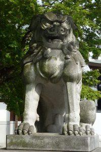 寒川神社 狛犬2