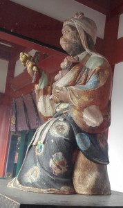 日枝神社 神門神猿女