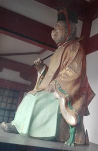 日枝神社 神門神猿男