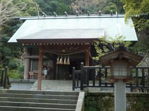 安房神社 社殿