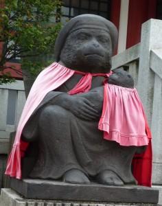 日枝神社 神猿左