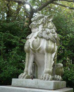 寒川神社 狛犬