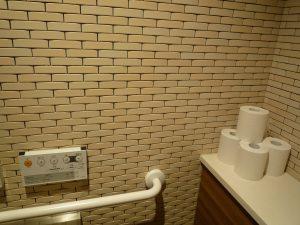 寒川神社 駐車場トイレ