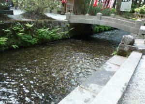 北口本宮冨士浅間神社 水場
