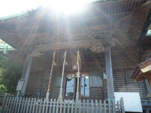 西叶神社 本殿