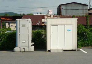 北口本宮冨士浅間神社 駐車場トイレ