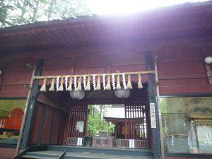 北口本宮冨士浅間神社 諏訪神社