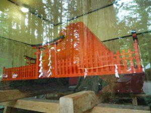北口本宮冨士浅間神社 赤富士