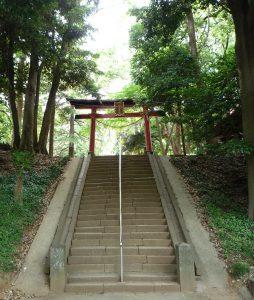 氷川女体神社 石段