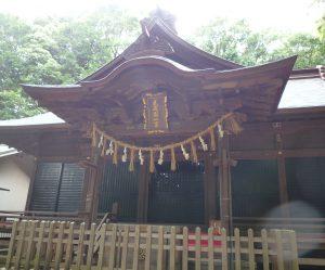 氷川女体神社 本殿