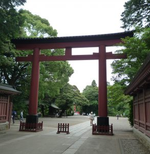 氷川神社 鳥居