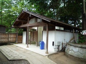 氷川神社 トイレ