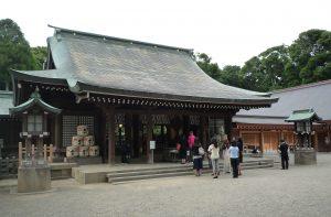 氷川神社 社殿