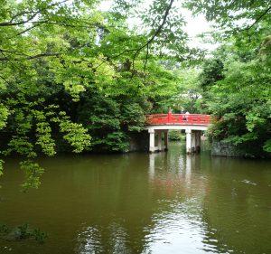 氷川神社 橋
