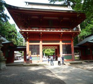 鹿島神宮 楼門前