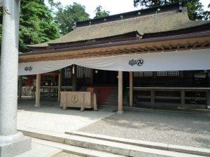 鹿島神宮 御社殿