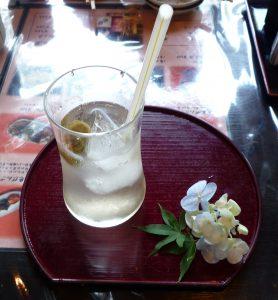 鹿島神宮 梅ジュース