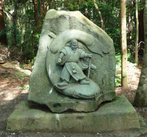 鹿島神宮 石像
