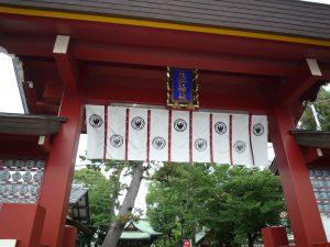 立石熊野神社 楼門