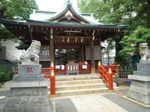 立石熊野神社 御社殿