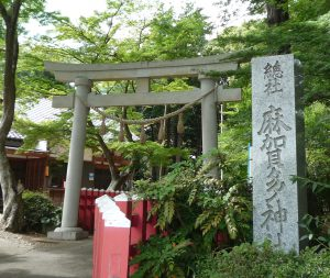 麻賀多神社(船形) 鳥居