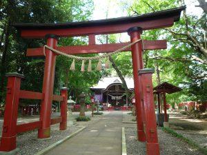 麻賀多神社(船形) 境内