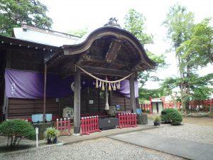 麻賀多神社(船形) 社殿