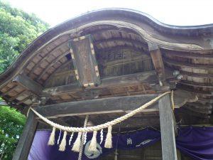 麻賀多神社(船形) 扁額