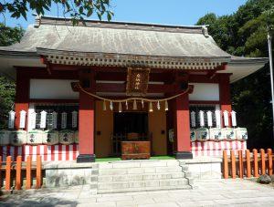 息栖神社 社殿