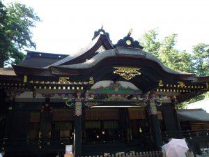 香取神宮 拝殿アップ
