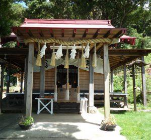 思金神社 社殿