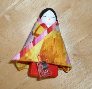 巫女人形 着物9