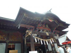 秩父神社 拝殿